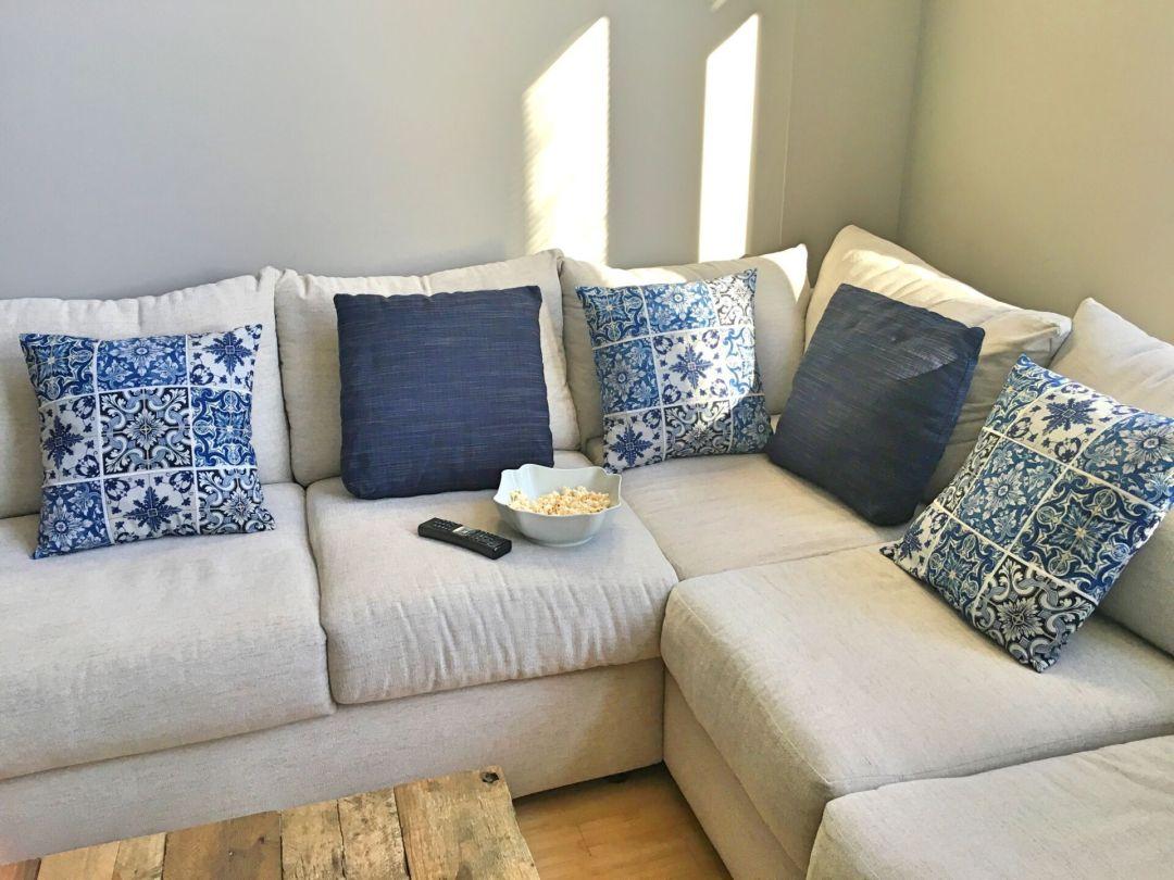Azulejo cushions