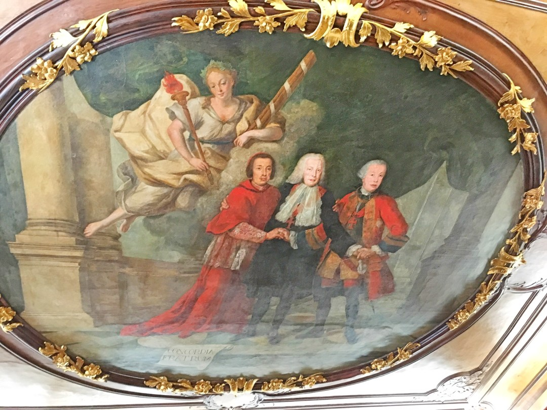 Brothers' painting