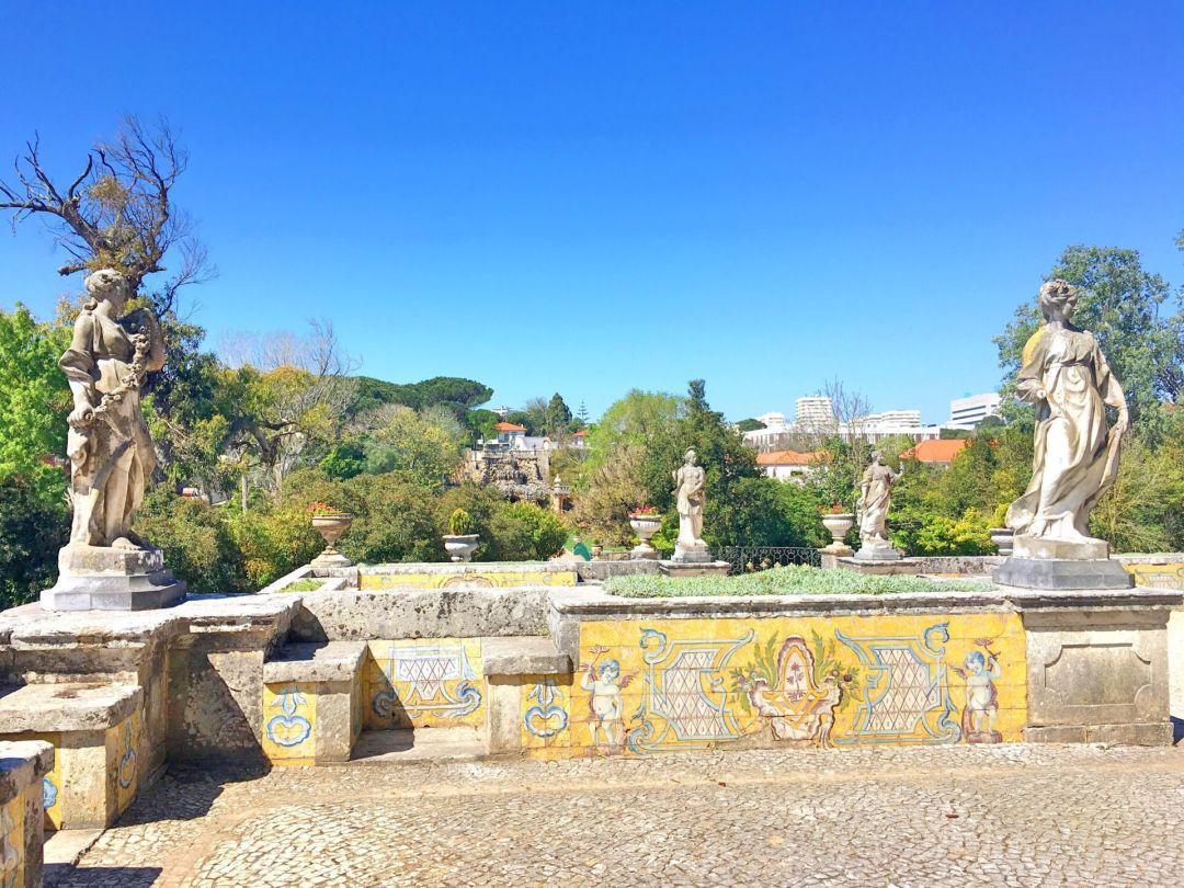 Patio palacio Marques de Pombal