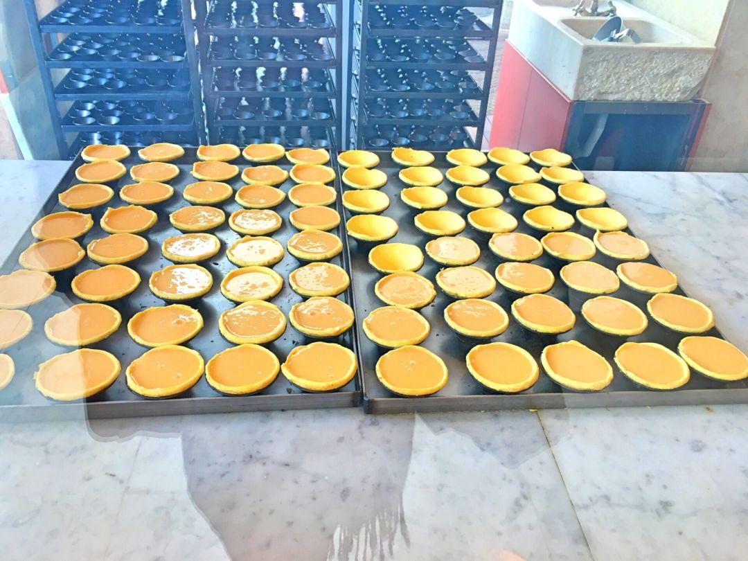 Fábrica da Nata - unbaked tarts