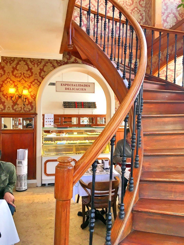 Staircase Confeitaria Nacional