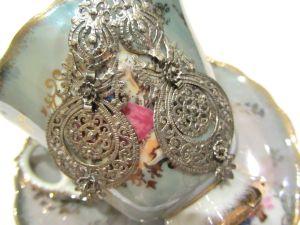 Ana Silver Earrings 2