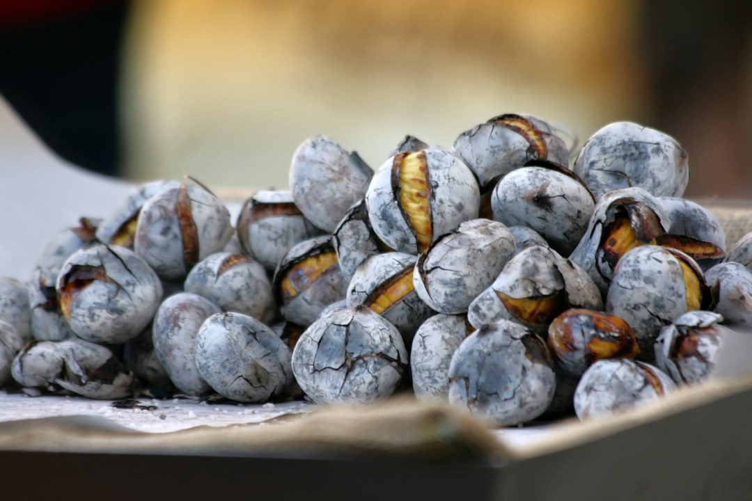 Roasted Portuguese Chestnuts