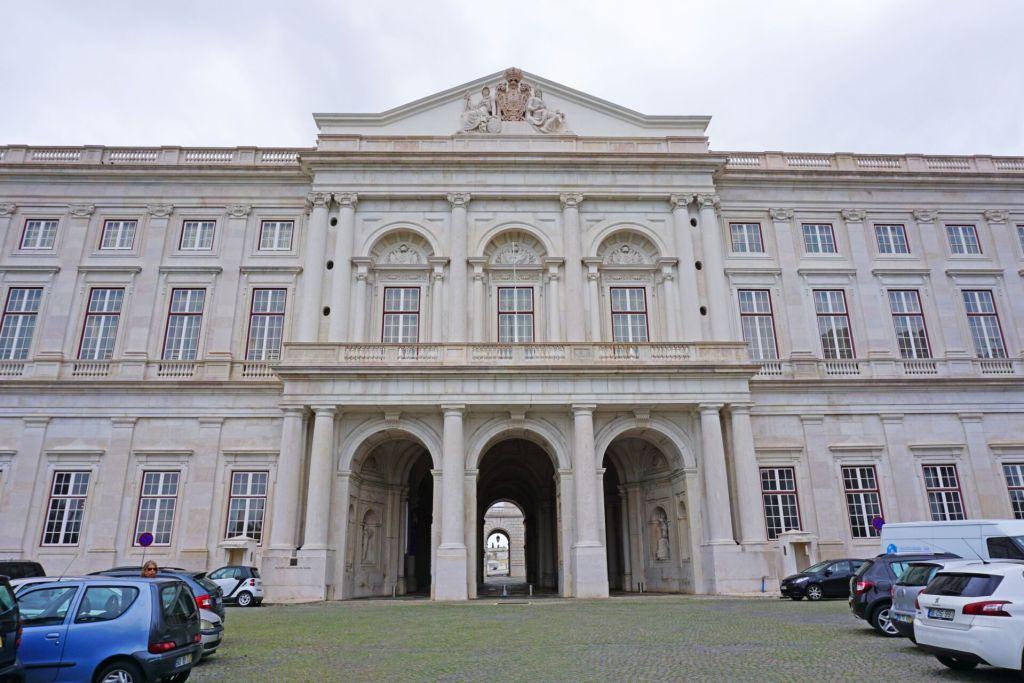 Entrance Palacio da Ajuda