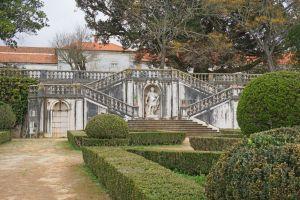 Stairs at the Jardim Botânico da Ajuda