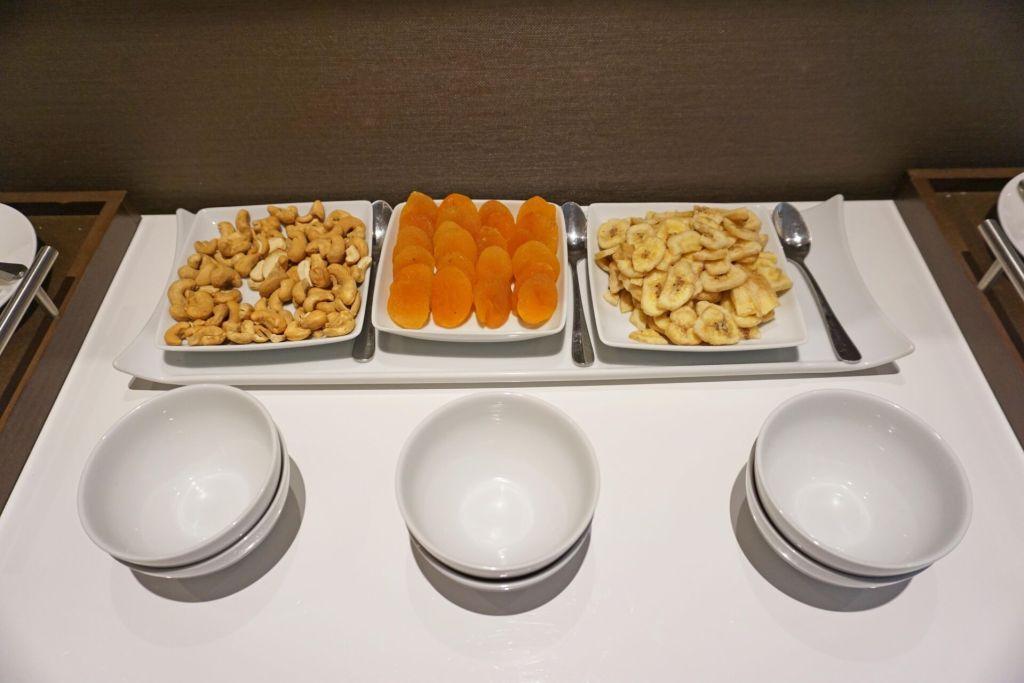 THE SPA snacks