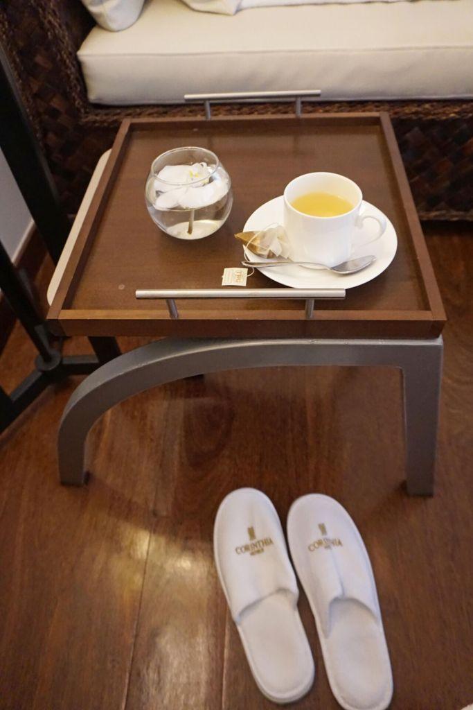 THE SPA post-treatment tea
