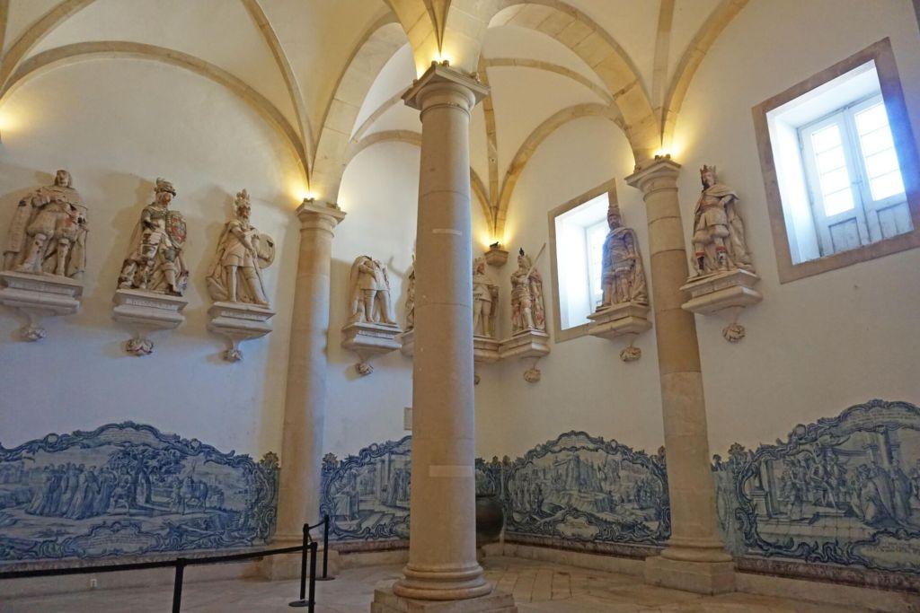 Alcobaça Monastery sala dos reis
