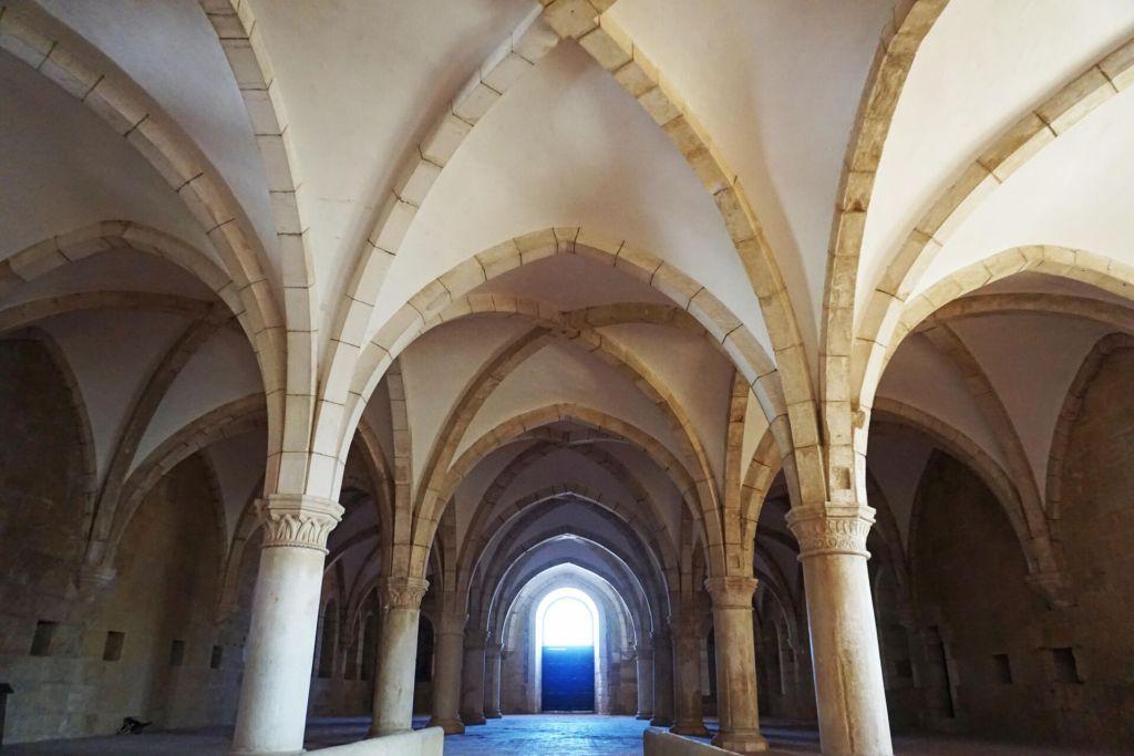 Mosteiro de Alcobaça dormitory