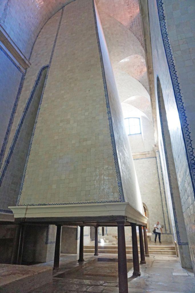 Mosteiro de Alcobaça cozinha