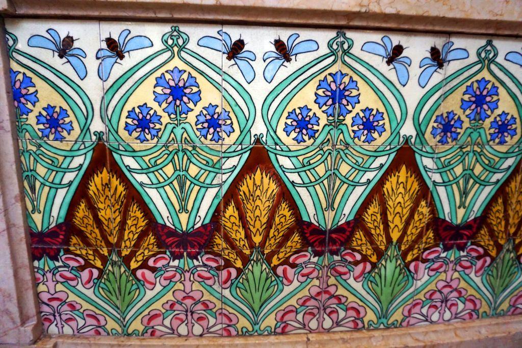 Art Nouveau Azulejos Padaria São Roque