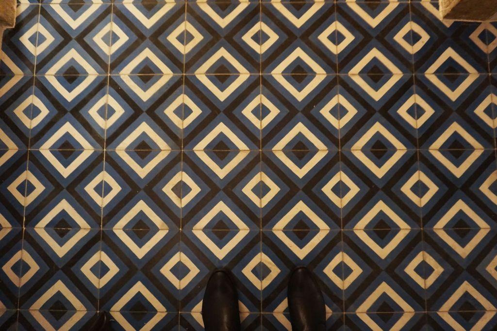 Gorgeous floors at Graca 77