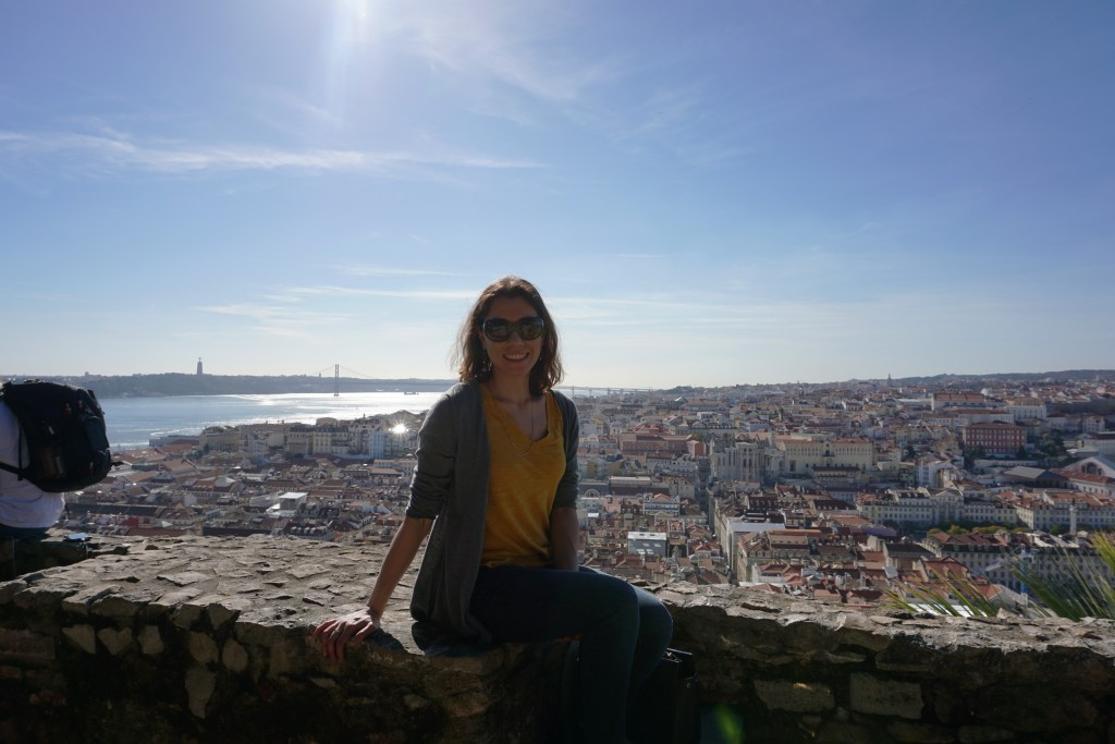 At the Castelo de S Jorge