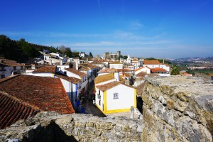 Obidos from the castle walls