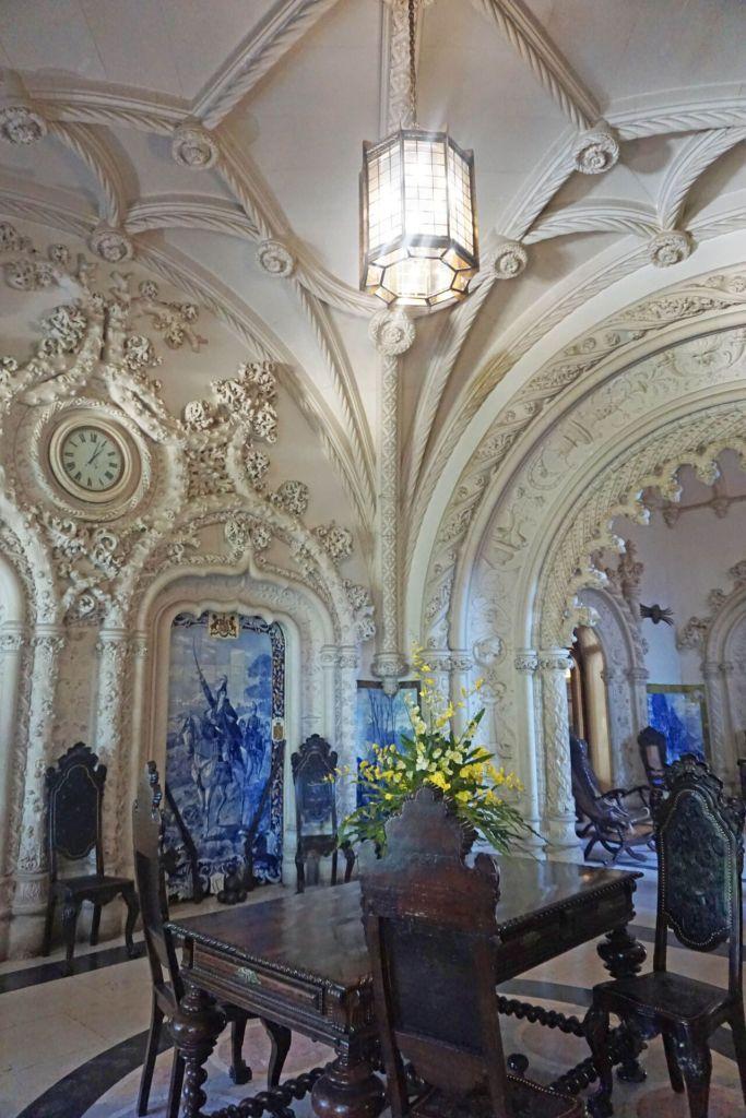 Intérieur de l'hôtel Buçaco Palace
