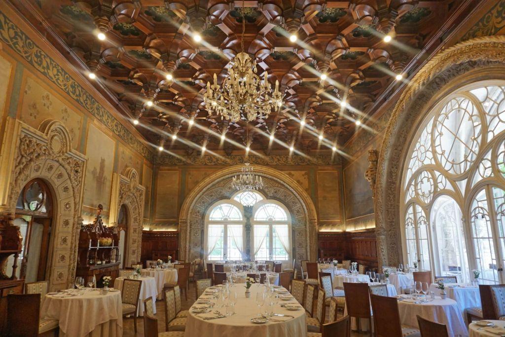 Restaurant de l'hôtel Buçaco Palace