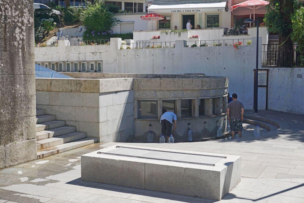 Fountain in Luso