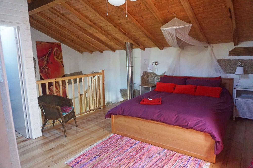 Quinta do Cobral main bedroom
