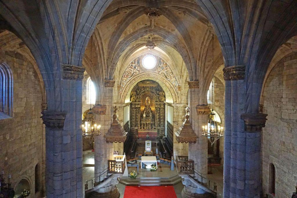 Viseu Cathedral interior