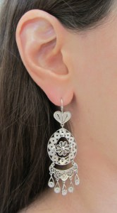 Fatima Earrings Silver 3