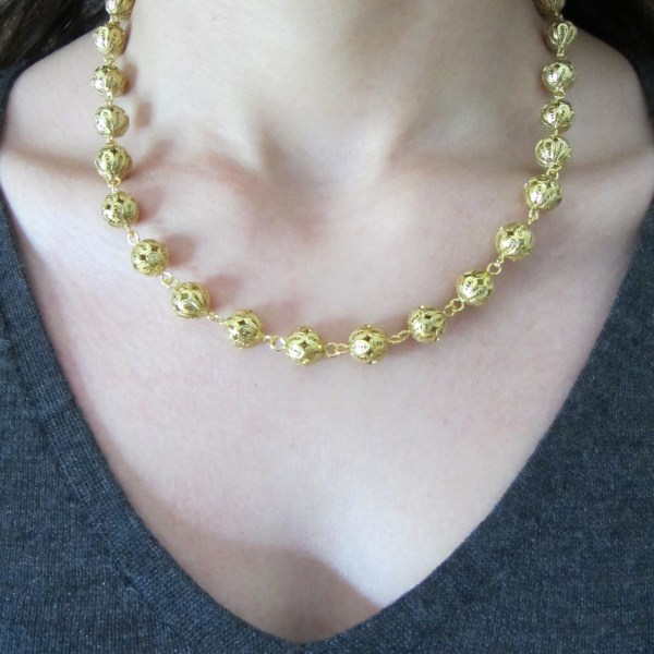 Filipa Gold Necklace 3