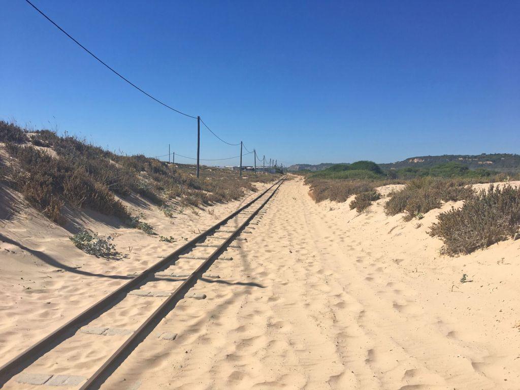 Train tracks at Nova Vaga