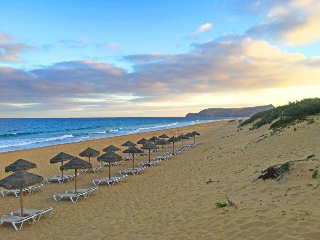 Porto Santo beach