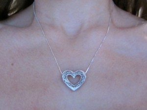 Lidia necklace silver 4