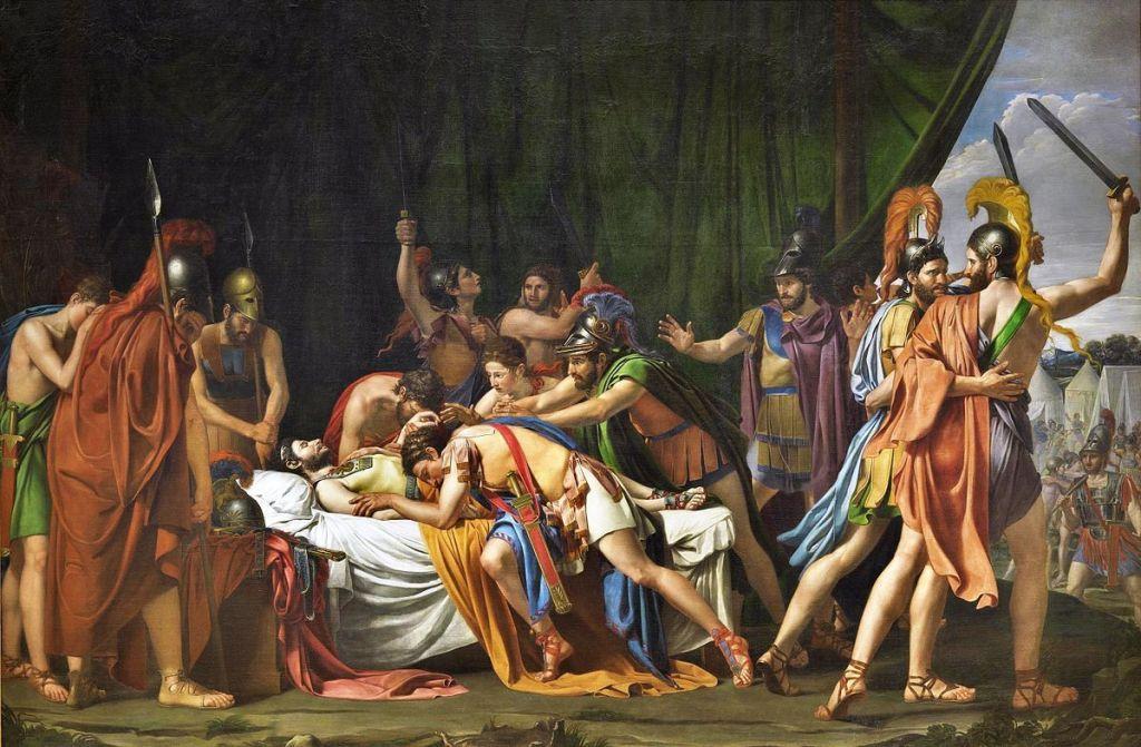 """""""Muerte de Viriato"""", by José_Madrazo"""