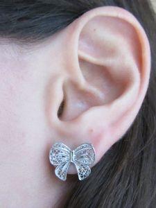 Sara earrings silver 4