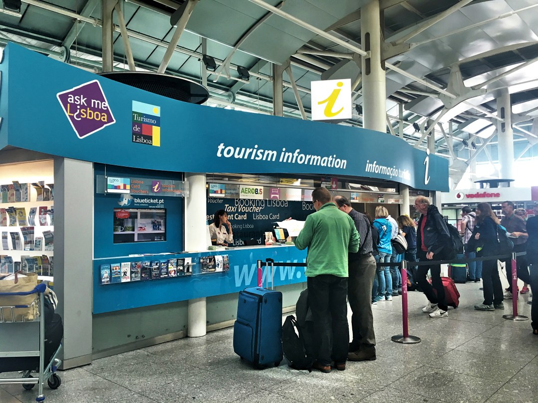 Information center airport