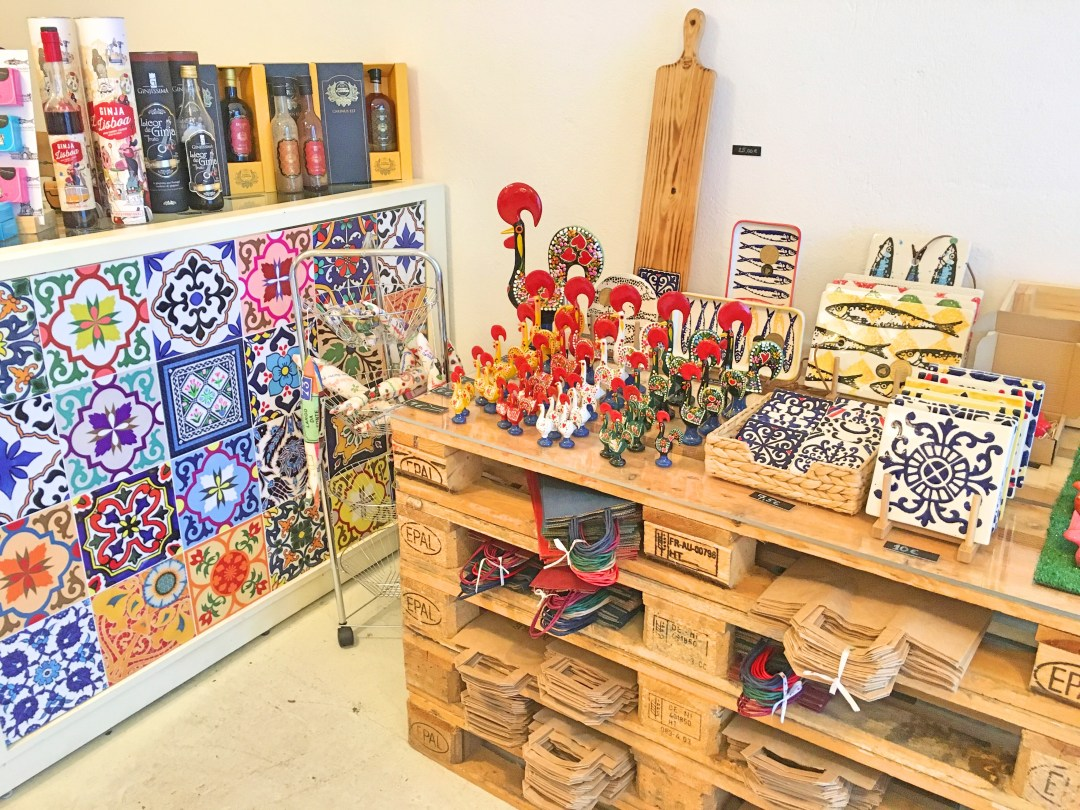 More Than Wine - tiles and souvenirs
