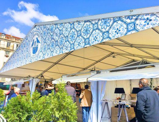 Mercado da Baixa Food tent