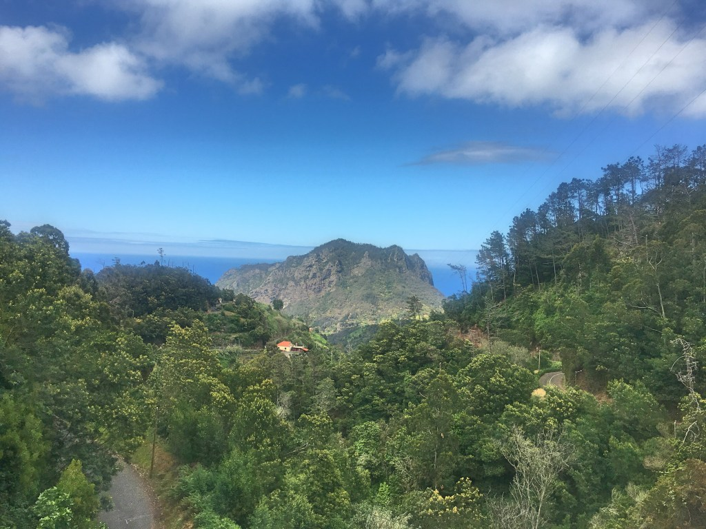 Scenery in Madeira