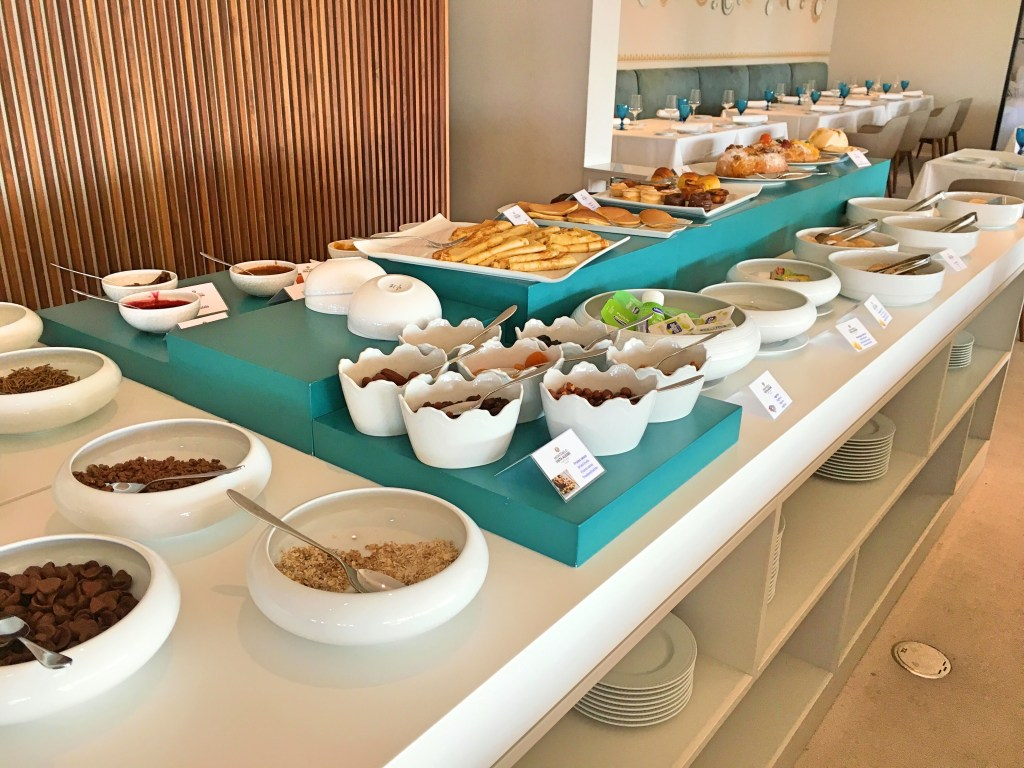 Breakfast buffet Montebelo Ilhavo