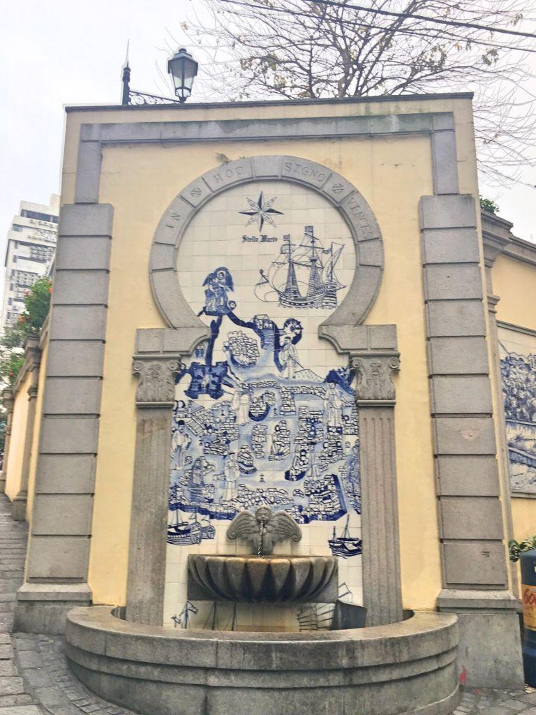 Azulejos in Macau