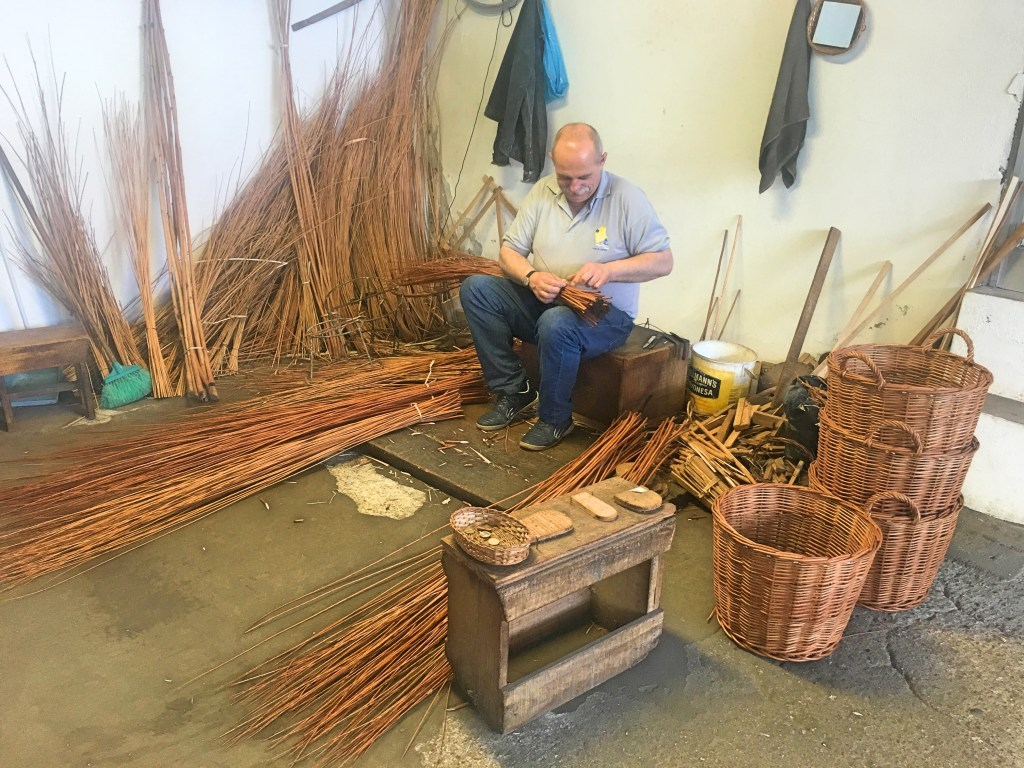 Making wicker