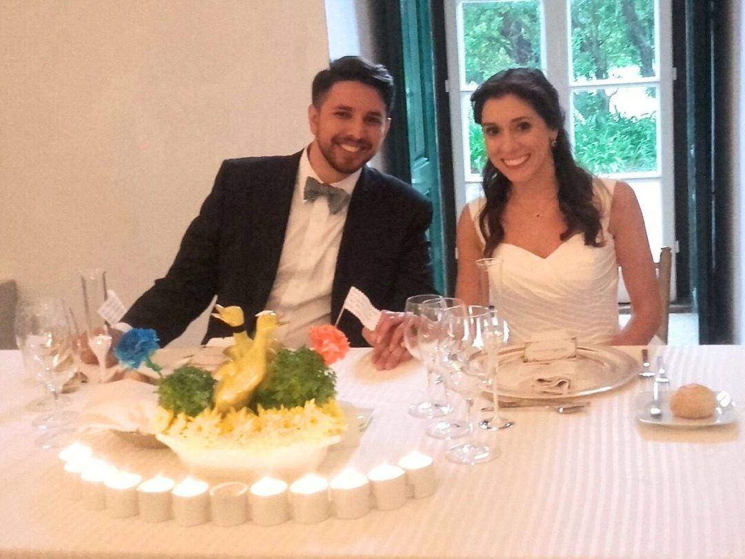 Manjerico at our wedding