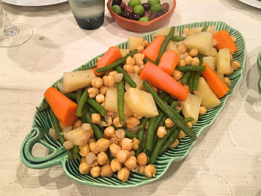 Cozido de grao - vegetables
