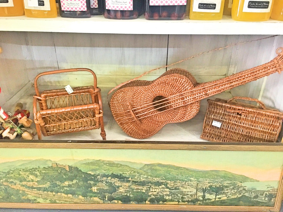 Traditional wicker pieces