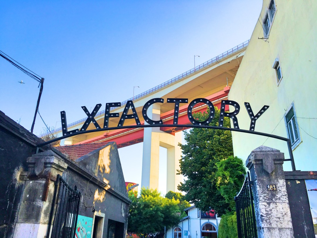 LX Factory sign
