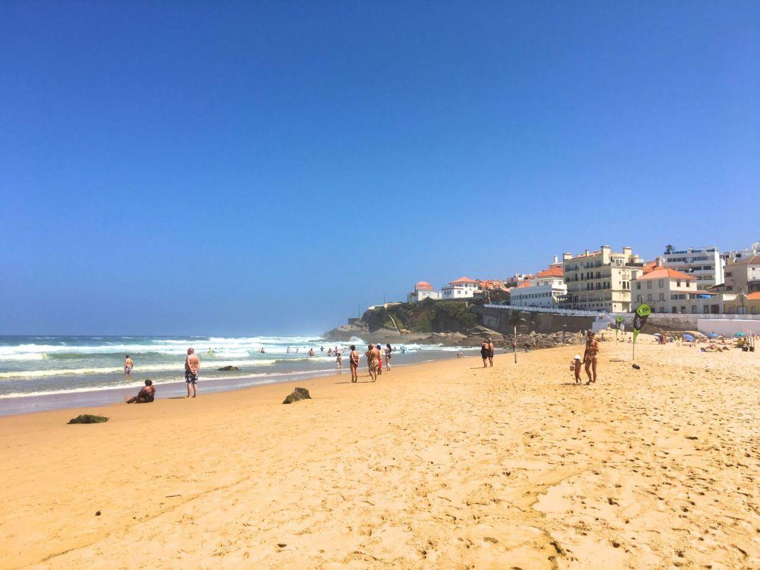 Small beach Praia das Maçãs