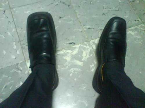 Zapatos diferentes