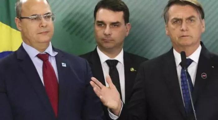 Witzel foi afastado mas, Flávio Bolsonaro, não, e não é por falta de crime.