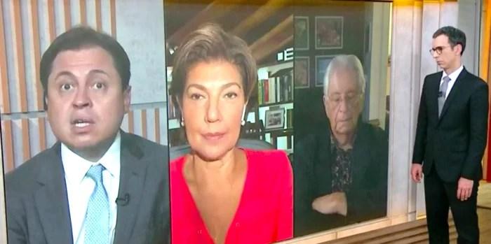 Nem Gabeira aguentou o enfadonho Gerson Camarotti e dormiu ao vivo na Globonews.