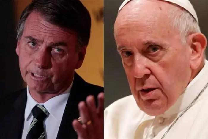 Papa Francisco discursa contra Bolsonaro, em favor da Amazônia e dos indígenas.