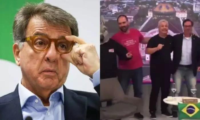 MPF apura de Flávio Bolsonaro cometeu crime ao fugir de acareação.