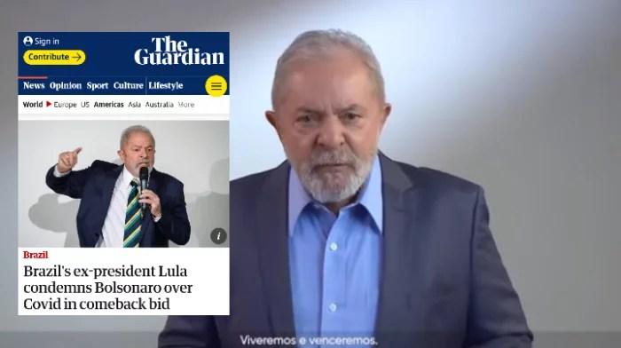 The Guardian dá destaque ao discurso histórico de Lula