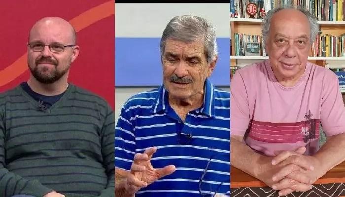 Trajano reage a bajuladores do Bolsonaro, na TV Brasil, no jogo Brasil e Peru.