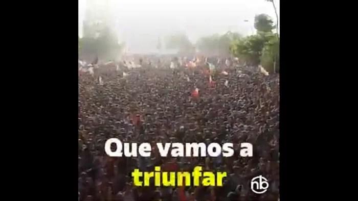 VÍDEO: O comovente hino de uma revolução que enterra a ditadura Pinochet para sempre..